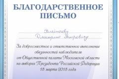 б Клейносов Д.П. Выборы2