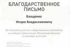 и Влащенко И.В. Выборы