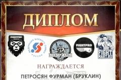 Открытый турнир по профессиональному боевому самбо